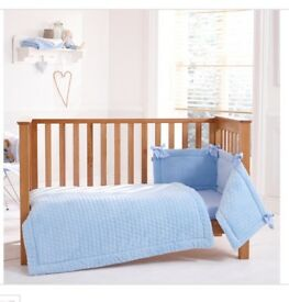 Claire de Luna cot bed set