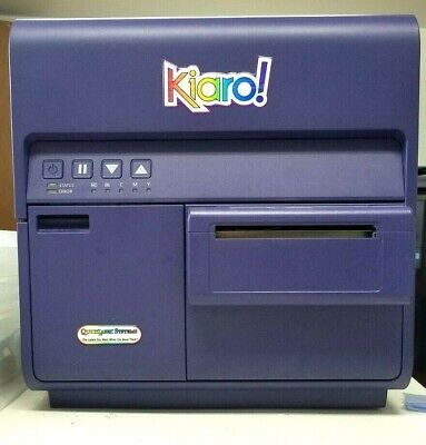Quicklabel Kiaro Inkjet Color Label Printer Used