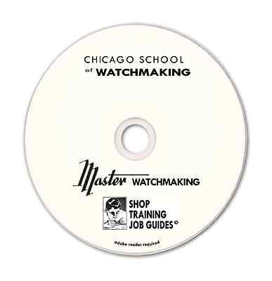 ••LEARN WATCH REPAIR - CHICAGO SCHOOL OF WATCHMAKING••