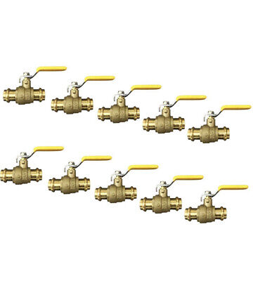 Lot Of 10 34 Propress Brass Ball Valves - Press Brass Ball Valve- Lead Free