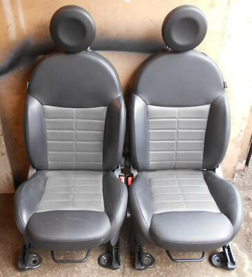FIAT 500 SPORT HALF LEATHER SEATS AND DOOR CARDS