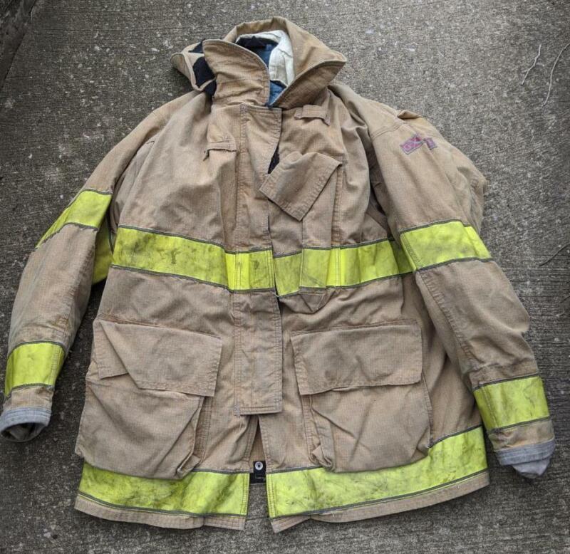 Globe Gxtreme Turnout Coat Firemans Bunker Coat 48/35 Monring Pride