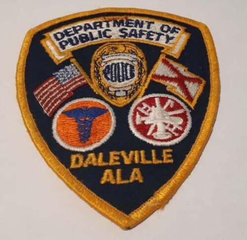 Daleville Alabama AL US Police Patch Vintage