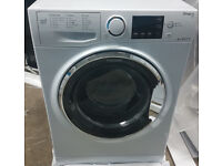 m455 BRAND NEW white hotpoint 8kg A+++ washing machine comes with warranty can be delivered