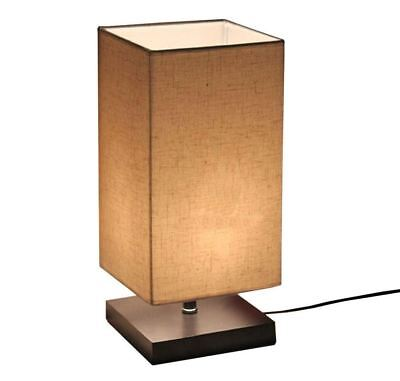 Best Modern Wood Night Stand Table Lamps Touch Sensor Bedroom Desk Lights