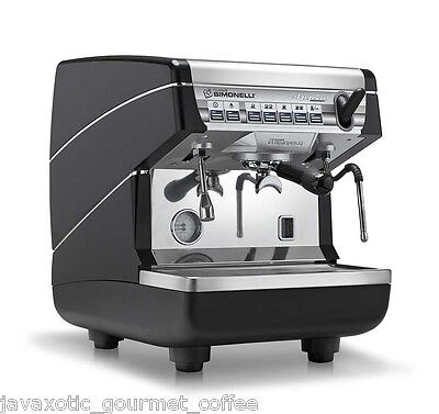 Simonelli Appia Ii Automatic 1 Group Commercial Espresso Machine With Auto Steam