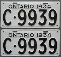 Vintage YOM License Plates For Your Classic - MTO Guaranteed!