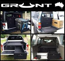 GRUNT 4X4 4WD UTE VAN STORAGE DRAWER SYSTEMS DUAL CABS WAGONS Hallam Casey Area Preview