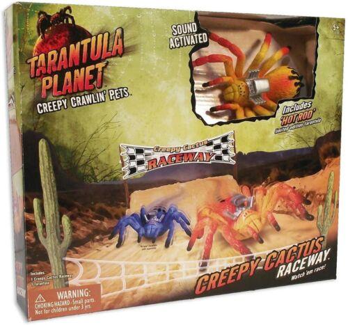 Uncle Milton Tarantula Planet Creepy Cactus Raceway