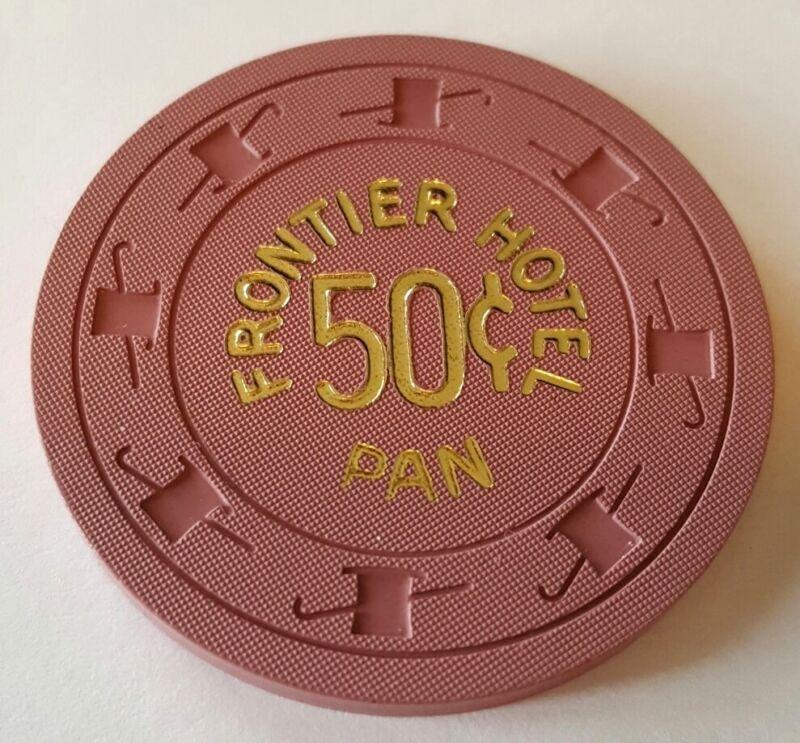 .50 Las Vegas Frontier Hotel Pan Casino Chip - Uncirculated