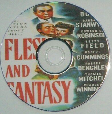 DRAMA 071: FLESH AND FANTASY (1943) Julien Duvivier Ed G. Robinson, Stanwyck