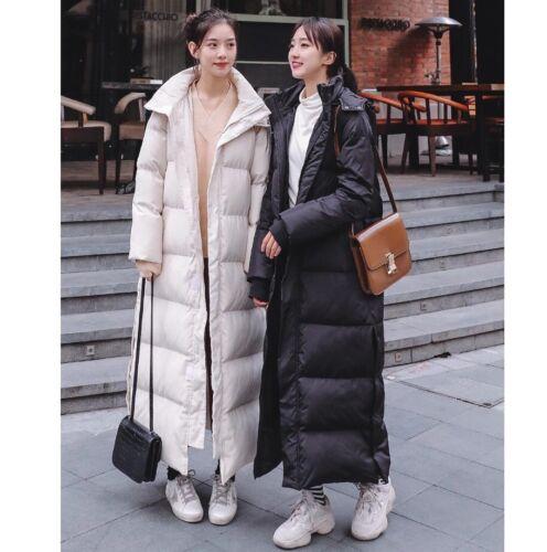 Chic Women//Lady Parka Oversized Long Hooded Jacket Loose Puffer Winter Coats