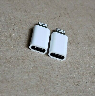 🔥2pcs Type C to lightning  USB Charging Converter for iphone charger Adapter🔥