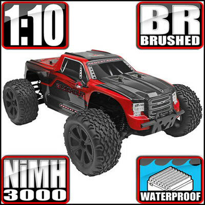 Redcat Racing Blackout XTE 1/10 Scale Electric 4WD Monster RC Truck Red NEW for sale  Whittier