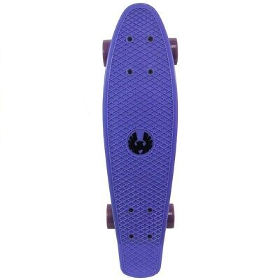 Cal 7 Complete Mini Cruiser Plastic Skateboard Purple