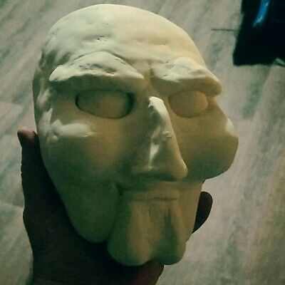 SAW Doll Head Blank Jigsaw ](Jigsaw Doll Halloween)