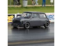 Classic Mini with 250bhp RWD ZCARS Conversion - Due to Relocation