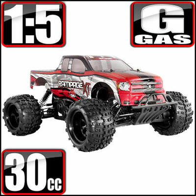 Redcat Racing Rampage XT 1/5 Scale Gas 4WD RC Monster Truck Red *New