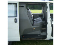 VW T4 crew cab seats and bulkhead