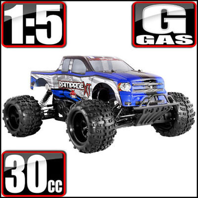 REDCAT Rampage XT 1/5 Scale Gas 2.4GHz Remote Control 4WD Monster Truck