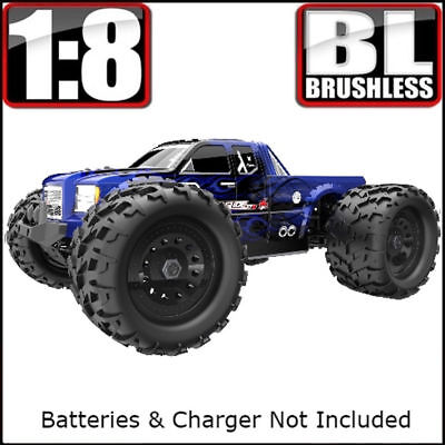 Redcat Racing Landslide XTE Truck 1/8 Scale Brushless Electric Monster RC *Blue