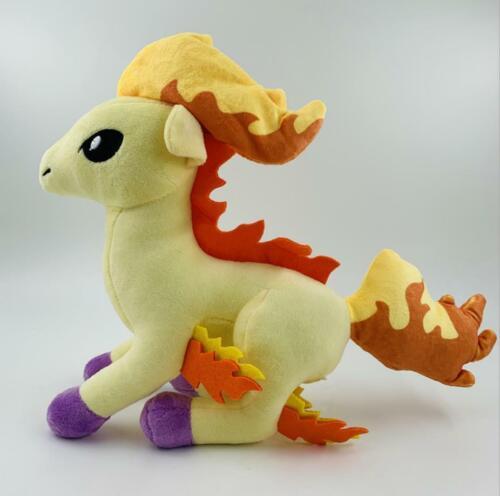30CM+12%22In+New+Ponyta+Plush+Toy+Stuffed+Doll+Figure+Designer+Series+Sword+Shield
