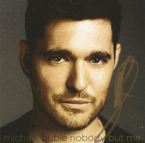 Michael Buble Nobody But Me CD And Autographed Art Card