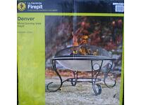 FIREPIT - DENVER - WOOD BURNER