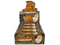 Grenade Carb Killa High Protein and Low Carb Bar, 12 x 60 g - ask for flavour