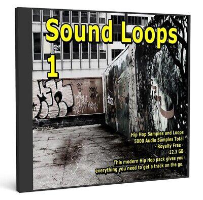 15GB 4 DVD/'s WAV Samples Loops FX Drum House Jungle Hip Hop Dub Step Electro