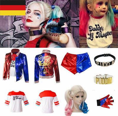 Suicide Squad Harley Quinn Daddy's Lil Monster Shirt - Harley Quinn Halloween Kostüm