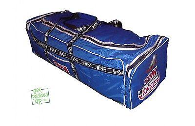 BDM Amazer Cricket Kit Bag : Carry : Large : Royal Blue : White Trim