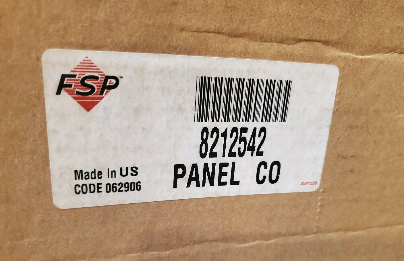 8212542 trash compactor m panel white new