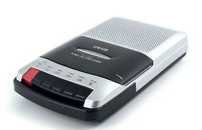 Craig CS2303 Portable Cassette Player/Recorder