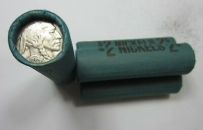 (1.) Old Sealed Buffalo Nickel Roll // 40 Coins // Mixed Date/Mint