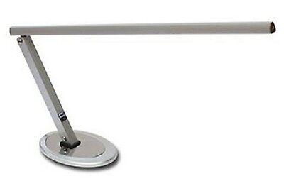Arbeitsplatzleuchte Arbeitslampe Lampe Arbeitsplatzlampe Tischleuchte Silber NEU