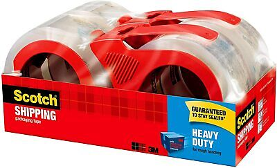Scotch Heavy Duty Packaging Tape 1.88 X 54.6 Yd Designed For Packing Shippin...