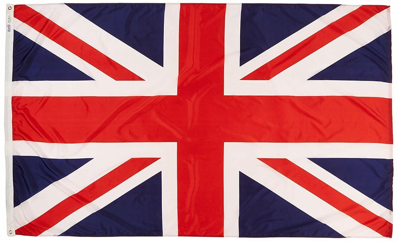 Annin Flagmakers 5x8 United Kingdom Flag Nylon Model 198899
