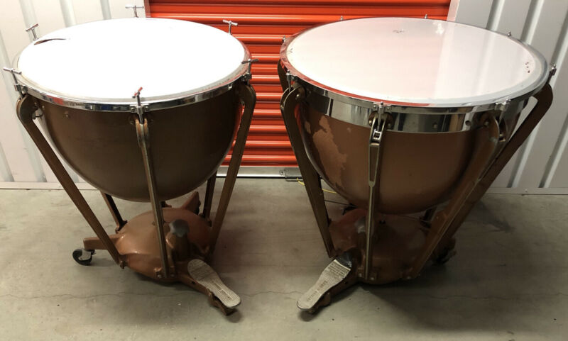 "2 Ludwig Timpani Fiberglass 26"" And 29"""