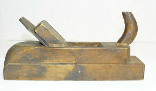 Carpentry Carpenter's Plane Vintage Wooden Soviet Russian Tool Woodworking  USSR
