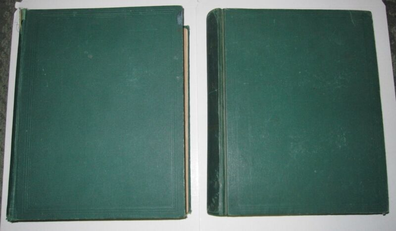 2 1870 BOOKS - THE MEDICAL AND SURGICAL HISTORY OF THE WAR OF REBELLION 1861-65
