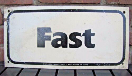 Original GO-KART TRACK - FAST - Sign retired Pa Amusement Park