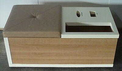 Schuhladen Anprobe Hocker Sockenbox Schuhlöffel-Box Multibox Schuhgeschäft
