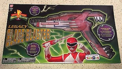 MMPR Mighty Morphin' Power Rangers Legacy Blade Blaster Toy BRAND NEW SEALED