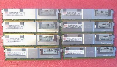 GENUINE 32GB 8x4GB memory kit for HP PROLIANT DL140 G3 BL460C G1 G5