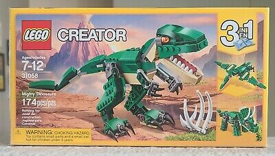 Lego Creator set 31058 Mighty Dinosaurs New, Sealed