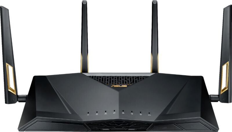 ASUS - AX6000 Dual Band Wi-Fi 6 Router