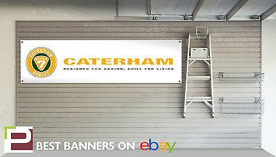 Caterham 7 BANNER Motorsport Car Workshop Garage sign superlight seven 16v