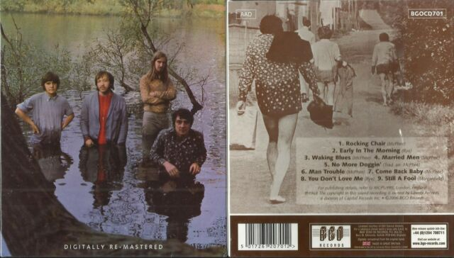 GROUNDHOGS - scratching the surface - CD 1968 Blues- Rock-BGO