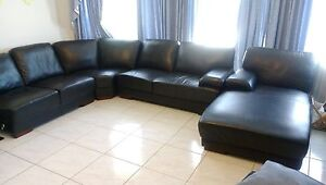 Leather  lounge suite Arndell Park Blacktown Area Preview